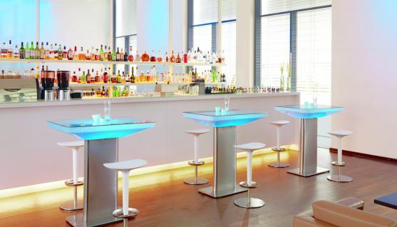 Moree Lounge Tisch Studio Pro, LED beleuchtet, B 70 cm, L 100 cm, H 105 cm, m...