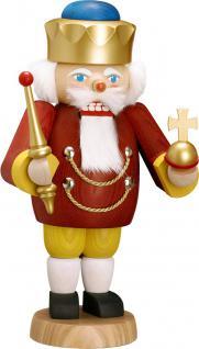 "Nussknacker "" König"", aus Holz, rot, Höhe 29 cm"