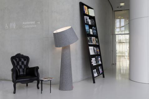 """Moree LED Stehlampe / Stehleuchte """" Alice XL"""", aus Filz (PE), Lampenschirm sch... - Vorschau 4"""