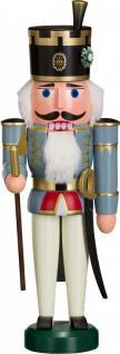"Nussknacker "" Offiziant"", aus Holz, blau, Höhe 29 cm"
