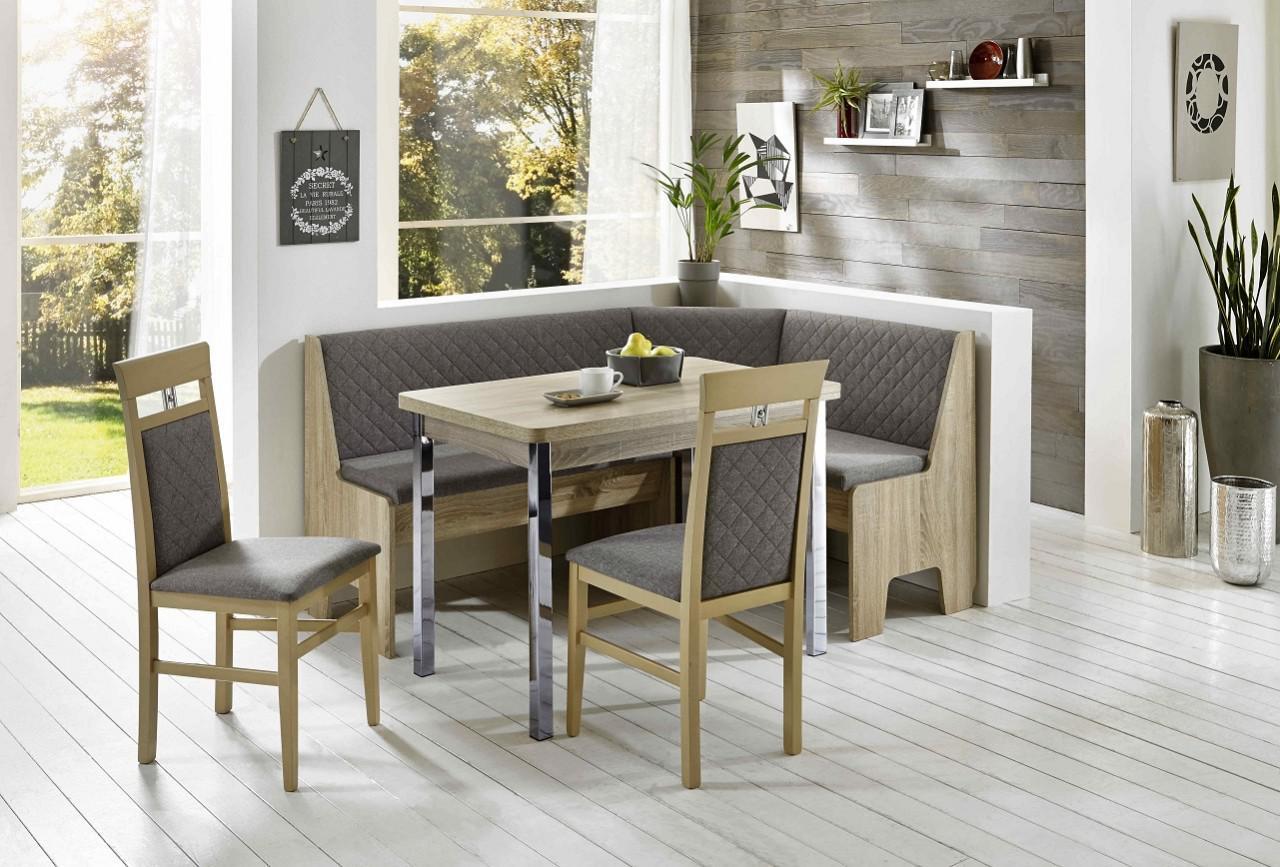 truhen eckbankgruppe eiche sonoma s gerau dekor eckbank 2 st hle und tisch kaufen bei. Black Bedroom Furniture Sets. Home Design Ideas