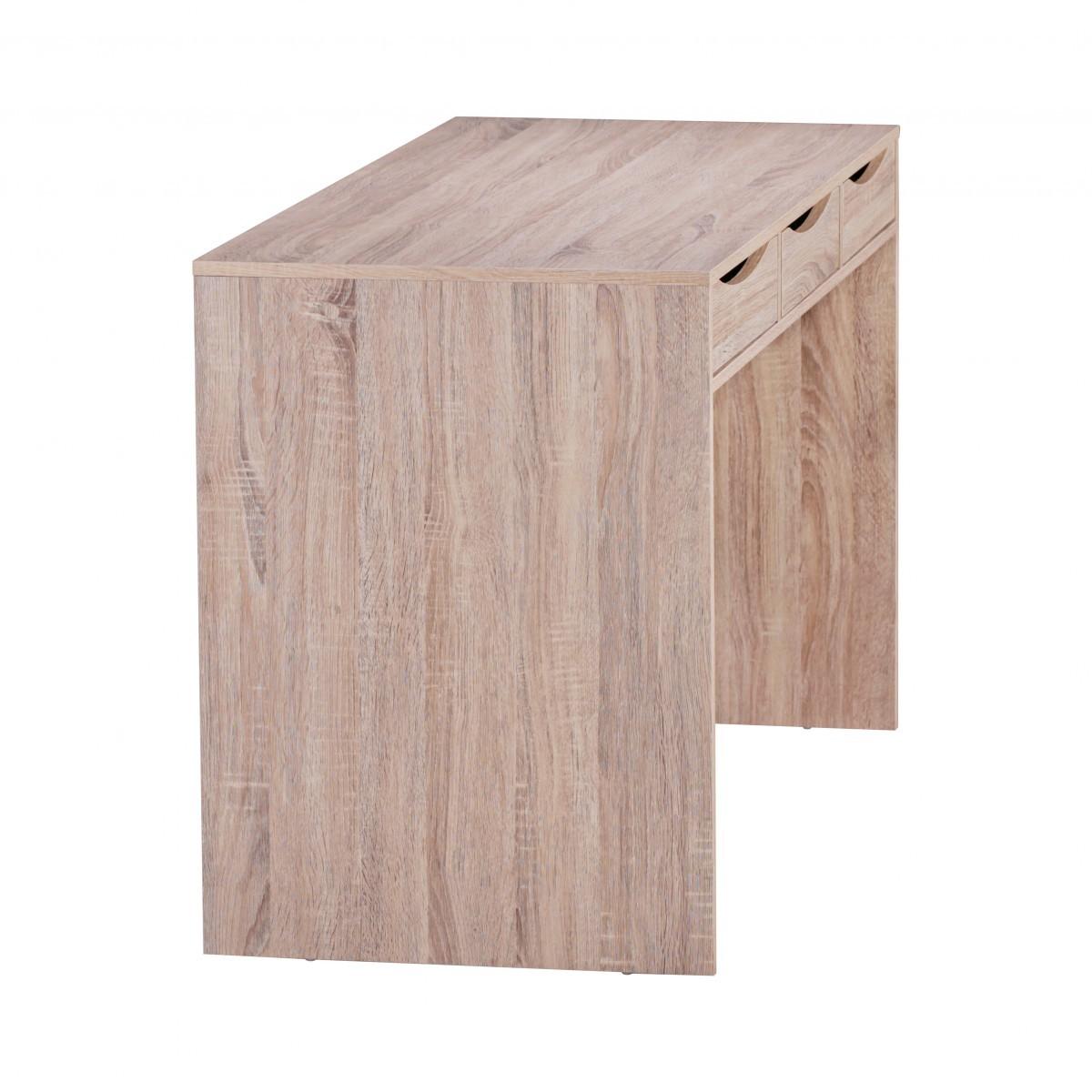 Stilvoller Schreibtisch Bürotisch Für Jugendliche Sonoma Eiche