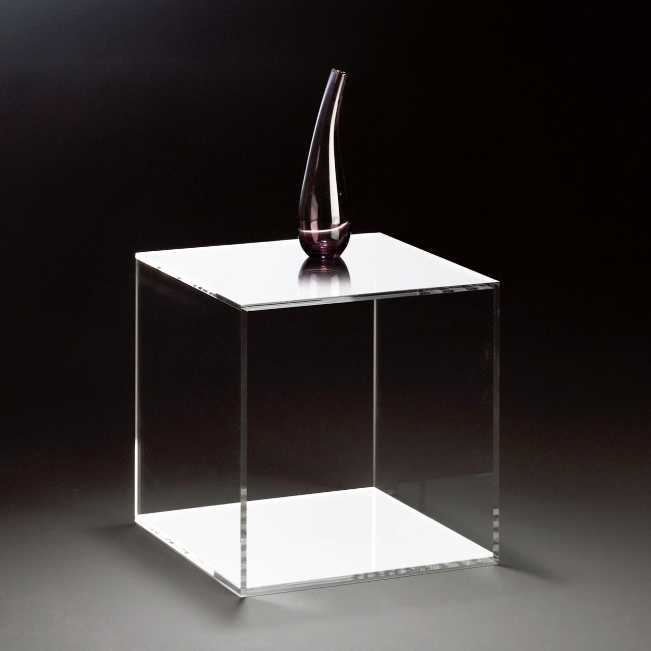 Würfel aus glas