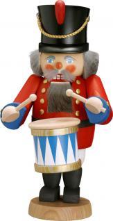 """Nussknacker """" Trommler"""", aus Holz, rot, Höhe 31 cm"""