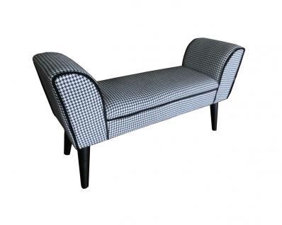 sitzbank weiss gepolstert g nstig kaufen bei yatego. Black Bedroom Furniture Sets. Home Design Ideas