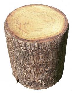 MeroWings Tree Seat Sitzkissen, Ø 40 cm, Höhe 45 cm, mit originalgetreuem Fot...