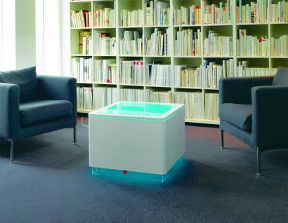 Moree Ora Leucht-Tisch mit Holzkorpus, LED beleuchtet, L 60 cm, W 60 cm, H 45... - Vorschau 3