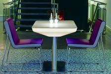 Moree Lounge Tisch Studio Pro, LED beleuchtet, B 70 cm, L 100 cm, H 75 cm, mi...