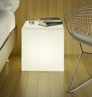 Leuchtwürfel / Sitzwürfel, Cuby Light, 2 Größen, weiß, (220-240 V) Energiespa... - Vorschau 4