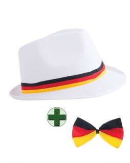 Fußball Fan-Artikel: Hut Cap Deutschland Fliege EM WM Herren Fußball 2021 KK