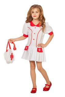 Krankenschwester Kostüm Kinder Mädchen Karneval Arzt OP Mädchenkostüm KK