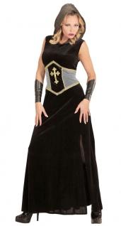 Ritter-Kostüm Damen Mittelalterkostüm Kämpferin Damenkostüm Erwachsene Karneval