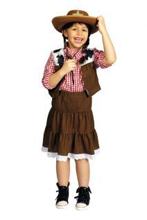 Kostüm Cowgirl Wilder Westen Mädchen Karneval Cowboy Cowgirl Mädchenkostüm KK