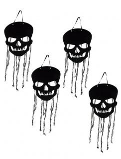 Schädel Totenkopf Girlanden Halloween-Deko KK