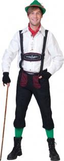 Oktoberfest Lederhose Herren Kostüm Trachtenhose Bayern Tiroler Herrenkostüm KK