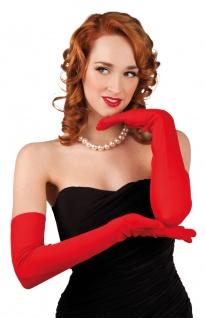 Handschuhe extra lang Luxus schwarz Charleston Damen-Handschuhe Einheitsgroße KK