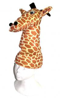 Karneval Klamotten Kostüm Mütze Giraffe Zubehör Tiere Karneval