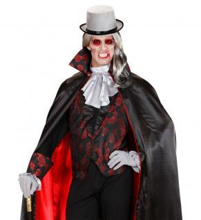 Dracula Vampir Brille rot Brille Dracula Halloween Karneval KK
