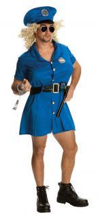 Karneval Klamotten Kostüm Polizist Männerballet Karneval Herrenkostüm