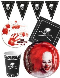 Halloween Party Deko Set Horror Clown KK