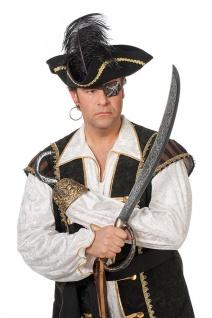 Piratsen-Set 2 Tlg. Schwert Säbel Pirat Piratenhaken Seeräuber Fasching Karneval