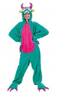 Karneval Klamotten Kostüm Monster Kostüm Plüsch Kostüm Fantasie Damenkostüm