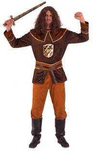 Ritter Kostüm Herren Mittelalter Burgfest Karneval Herrenkostüm Fasching KK