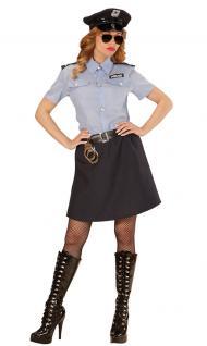 Karneval Klamotten Kostüm Polizistin Sandra Dame Karneval Polizei Damenkostüm