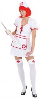 Sexy Krankenschwester Kostüm Damen Karneval Fasching Arzt Damenkostüm KK