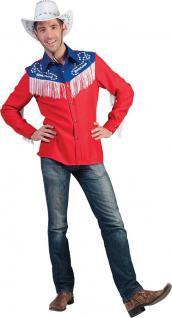 Karneval Klamotten Kostüm Country Hemd Western Karneval Line Dance Herrenkostüm
