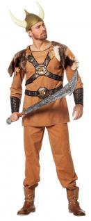 Wikinger-Kostüm Herren Nordmannkostüm Luxus Viking Vikings Herrenkostüm Fasching