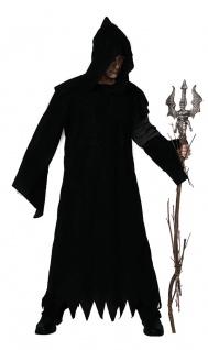 Karneval Klamotten Kostüm Warlock Herr Halloween Horror Herrenkostüm Einheitsgr.