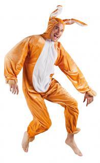 Karneval Klamotten Kostüm Hase Plüsch Herr Karneval Tier Herrenkostüm