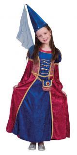Kostüm Burgfräulein Kinder Mädchen Mittelalter Burgdame Mädchenkostüm Fasching K