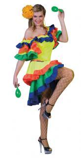 Samba Kostüm Samba Kleid Brasilianerin Kostüm Brasilien Kostüm Rio Damen-Kostüm