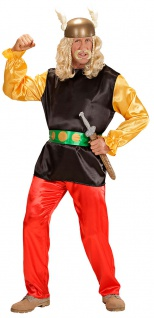 Gallier Kostüm Gallischer Soldat Asterix Herren-Kostüm Erwachsene Karneval KK - Vorschau