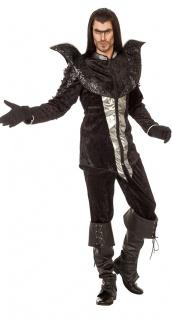 Rabe Kostüm Vogel Krähe Rabenkostüm The Raven Herren Karneval Fasching KK