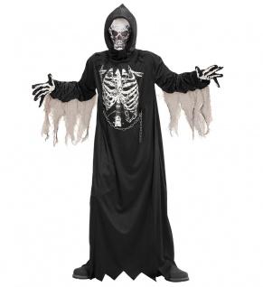 Sensenmann Kostüm für Herren Der Tod Halloween Herren-Kostüm KK