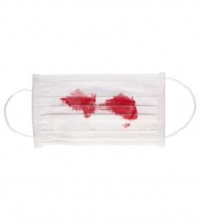 Mundschutz Halloween Blutige Maske Mund Nasen Schutz KK