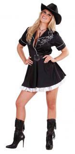 Karneval Klamotten Kostüm Cowboy Kleid Rodeo Karneval Western Damenkostüm