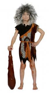 Karneval Klamotten Kostüm Neandertaler Velboa Kostüm Kind Beruf Kinderkostüm