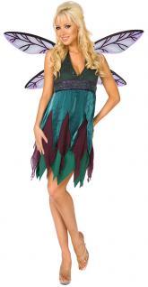 Karneval Klamotten Kostüm Elfe Dame Karneval Waldfee Damenkostüm