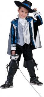 Karneval Klamotten Kostüm Musketier D'Artagnan Junge Karneval Mittelalter Kind