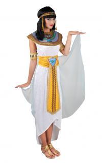 Karneval Klamotten Kostüm Cleopatra Karneval Ägyptische Kaiserin Damenkostüm
