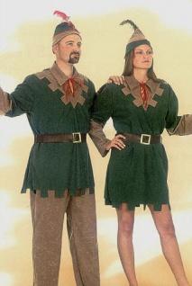 Robin Hood Kostüm Damen Bogenschützin Jägerin Mittelalter Fasching Karneval KK