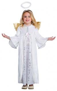 Engelkostüm Kinderkostüm Weihnachtskostüm mit Engel Flügel und Heiligenschein KK
