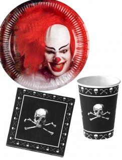 Halloween Party Deko Horror Clown Party Set KK