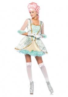 Rokoko Kostüm Damen Marie Antoinette Renaissance Kleid Barock Damen-Kostüm kurz
