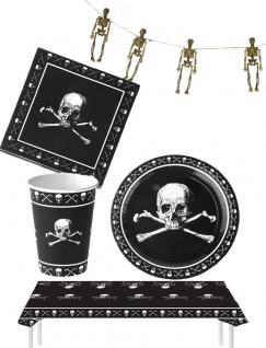 Halloween Horror Party Raum Deko Tisch Dekoration Skelett KK