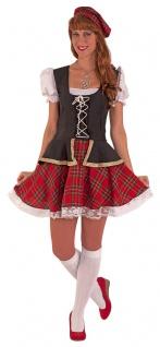 Schottenkostüm Damen Schottin Kostüm Highländerin Karneval Fasching KK
